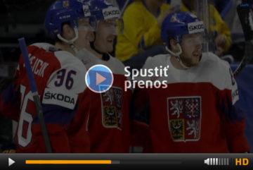 MS v hokeji 2018: Česko vs. USA online přenos živě